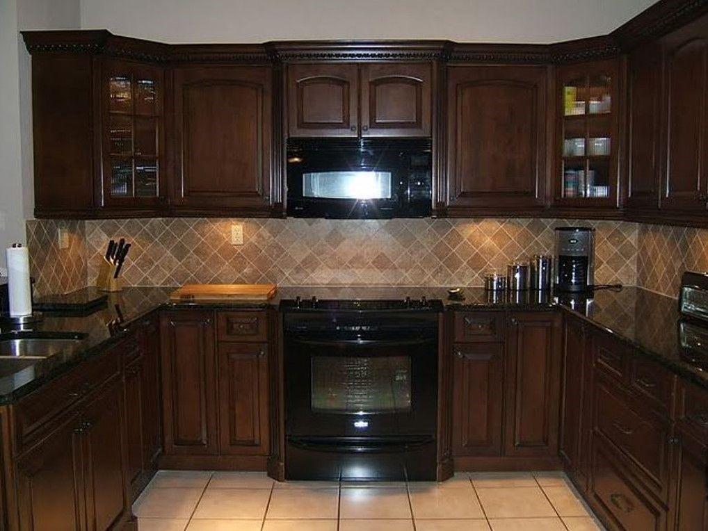 Ordinary Small Kitchen Dark Cabinets Part - 8: Small Kitchens With Dark Cabinets