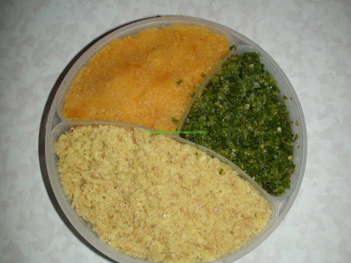 3Gs Ginger, Garlic and Green Chillies Paste How to