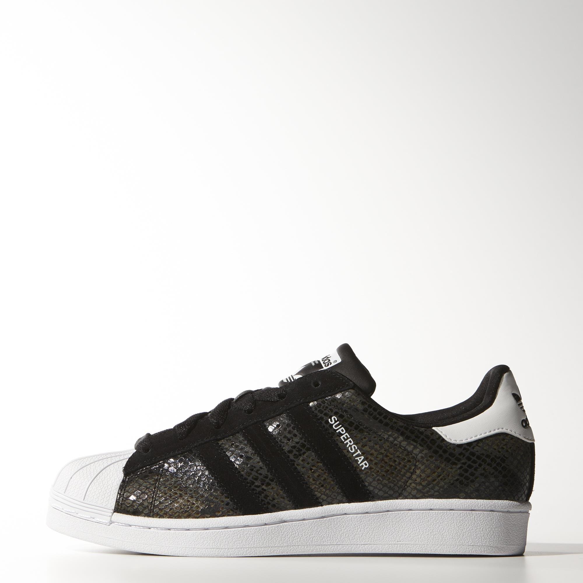 adidas superstar black croc