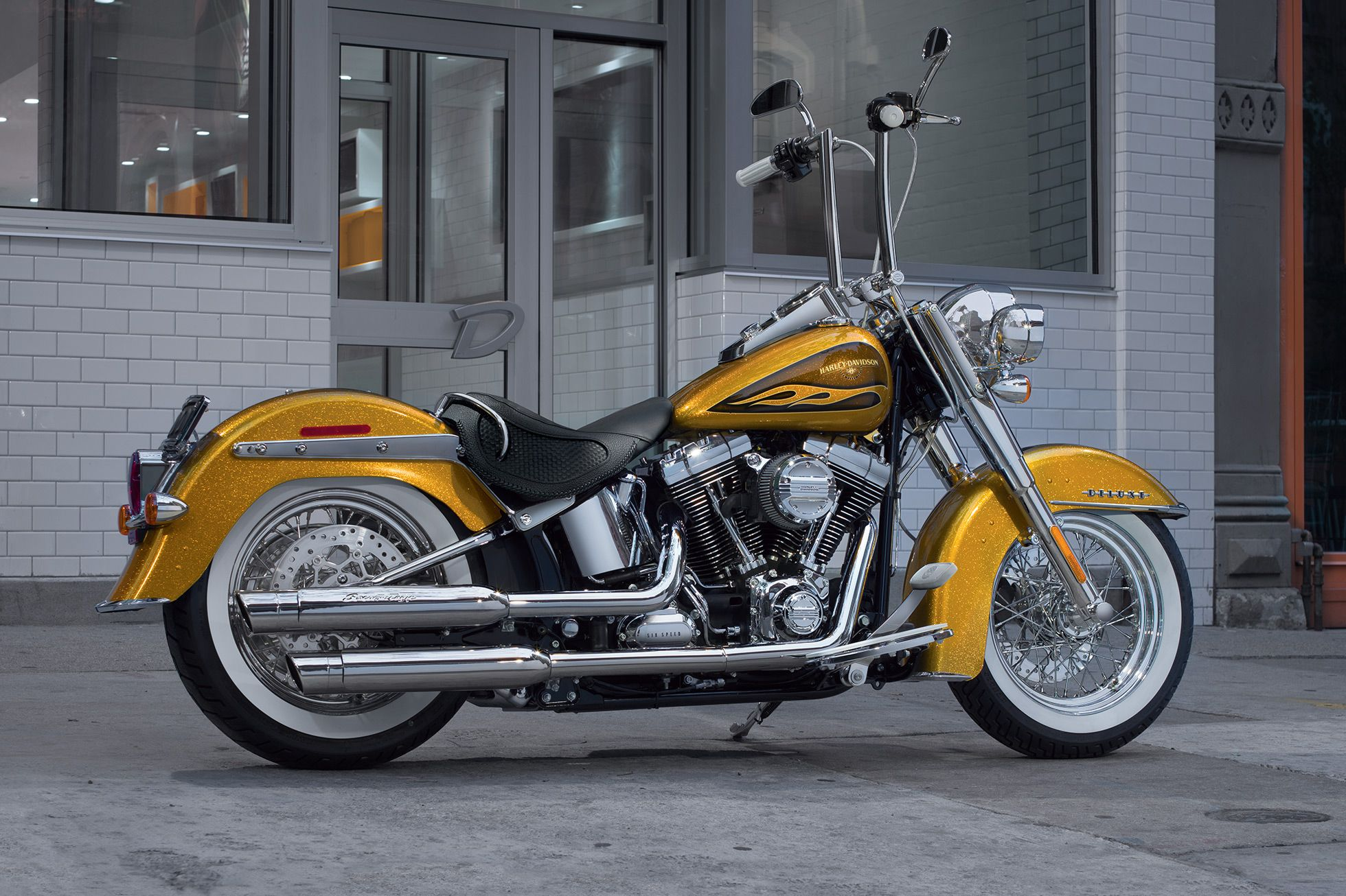 2016 Softail Deluxe modified | Harley Davidson | Pinterest ...