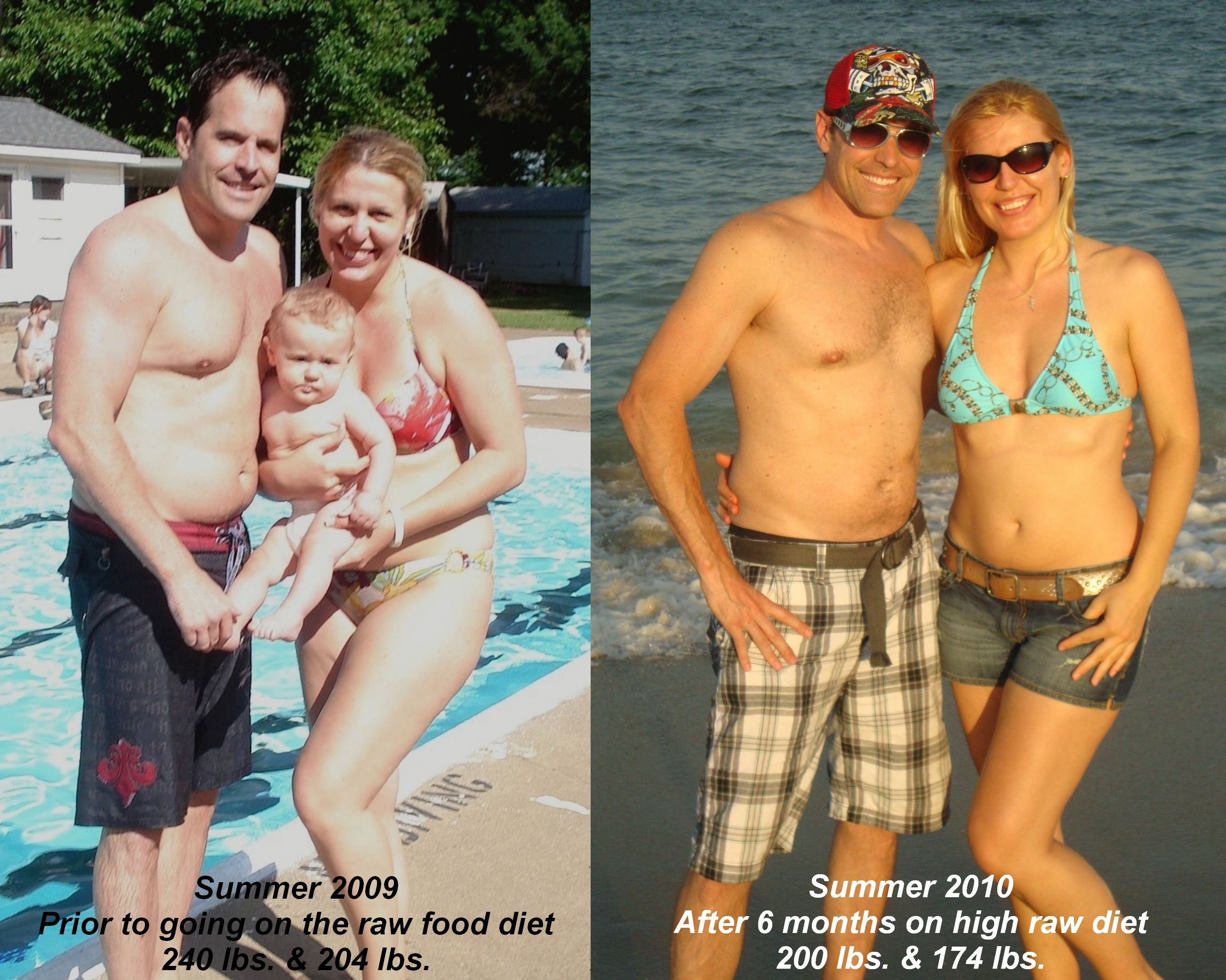 """""""While the original goal was to try it for a month, we managed to thrive and prosper for whole 6 months already."""" http://zoevblog.com/2010/07/05/my-raw-food-journey-6-month-update-before-after/"""