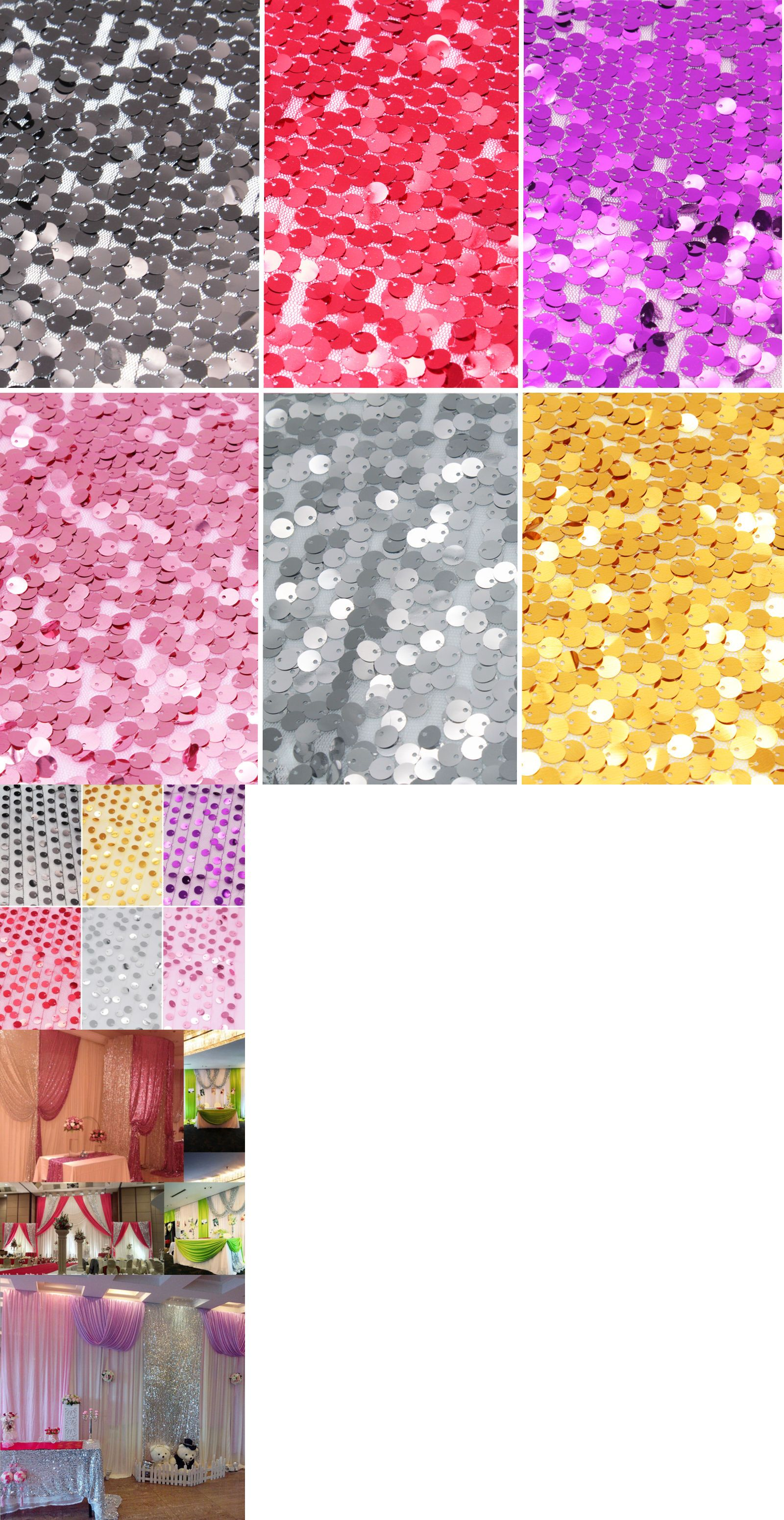 Wedding decorations background  FTFT Sequin Photo BackdropWedding Party Photo Booth