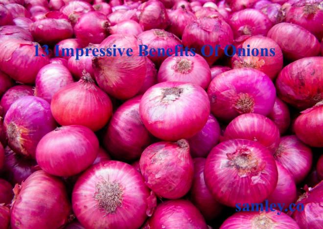 13 Impressive Benefits Of Onions | SAMLEY.CO