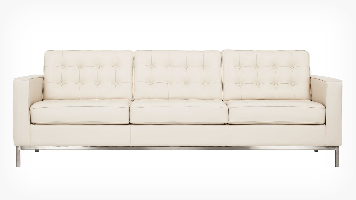 Reverie 92 Quot Sofa Leather Eq3 Modern Furniture