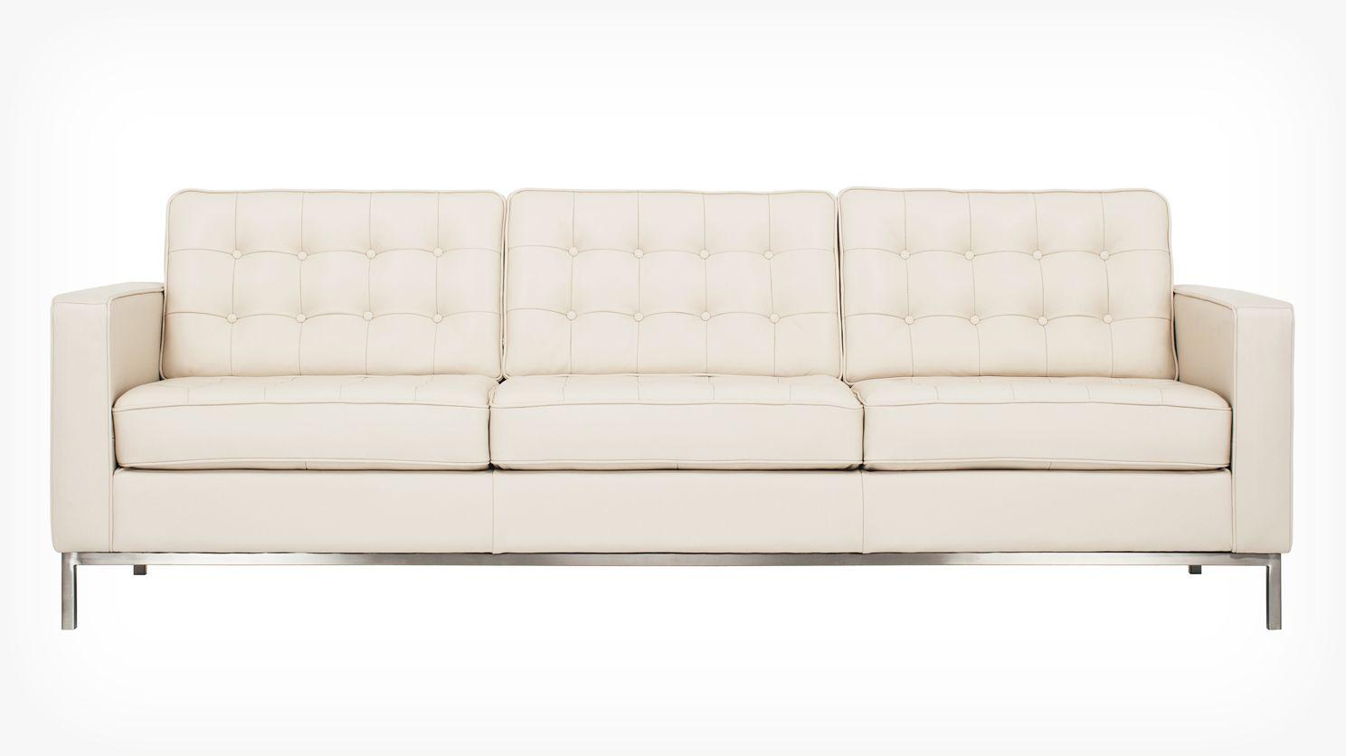 Reverie 86 Sofa White Leather Sofas Leather Sofa Sofa