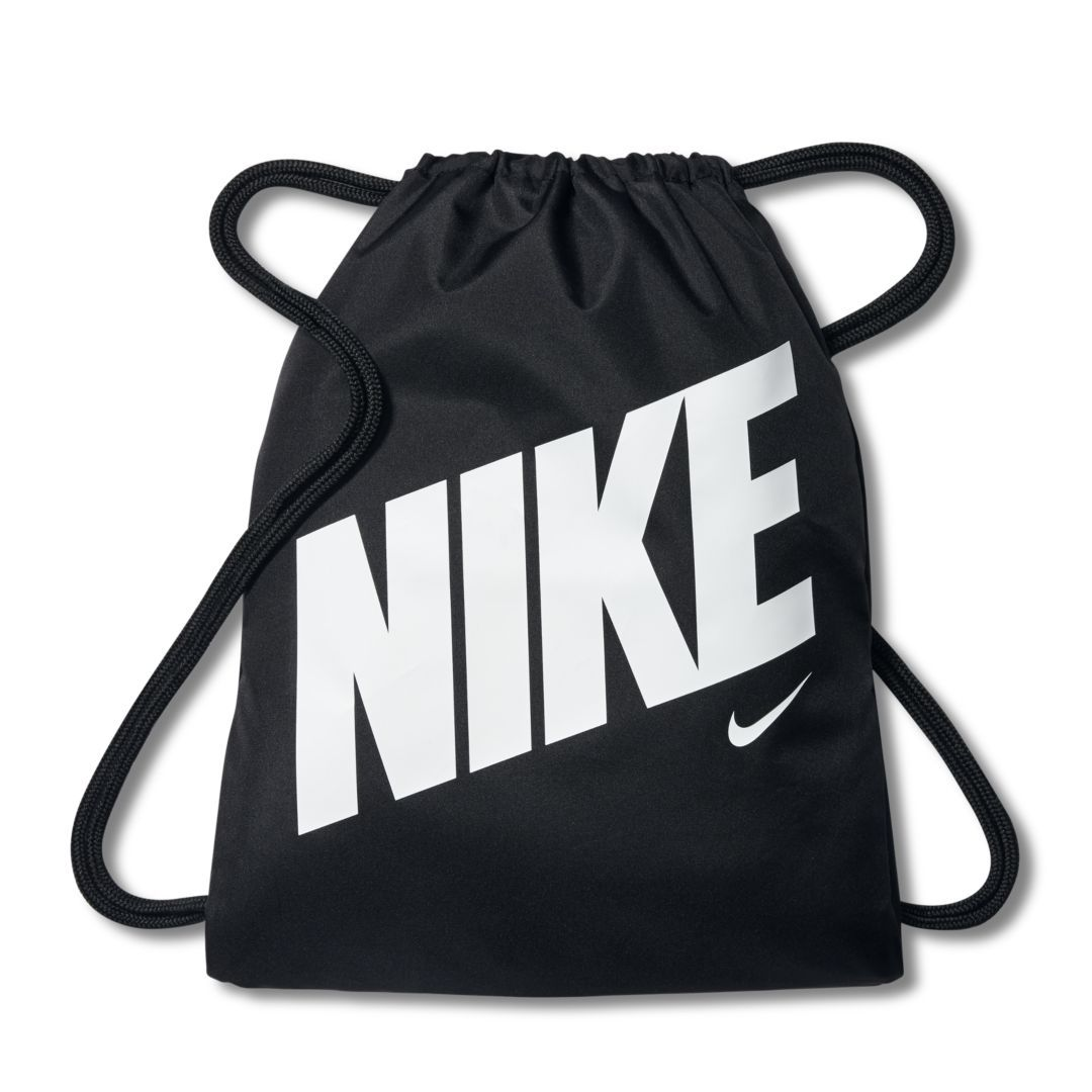 23433e86f2647 Nike Graphic Kids  Gym Sack Size ONE SIZE (Black) in 2019