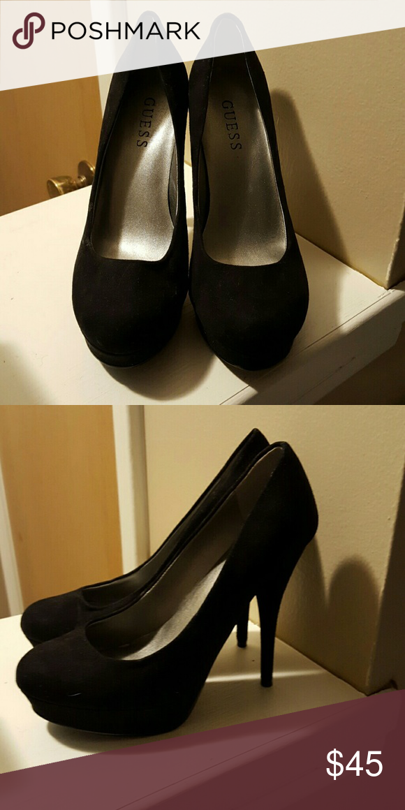 Guess suede pumps NEW!! Never worn, mint condition Guess Shoes Heels