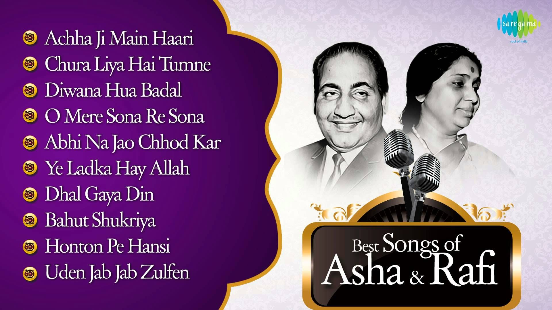 Best Of Asha Mohd Rafi Asha Duet Songs Old Hindi Songs Asha Mohd Rafi Duets Old Hindi Movie Songs Hindi Old Songs Songs This hindi song is terrific in its reach among the masses. best of asha mohd rafi asha duet