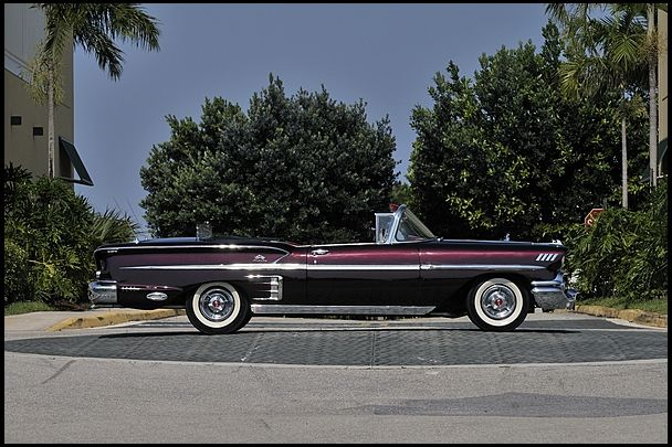 58 Impala Convertible Black Cherry Paint The Color I Wanna Paint
