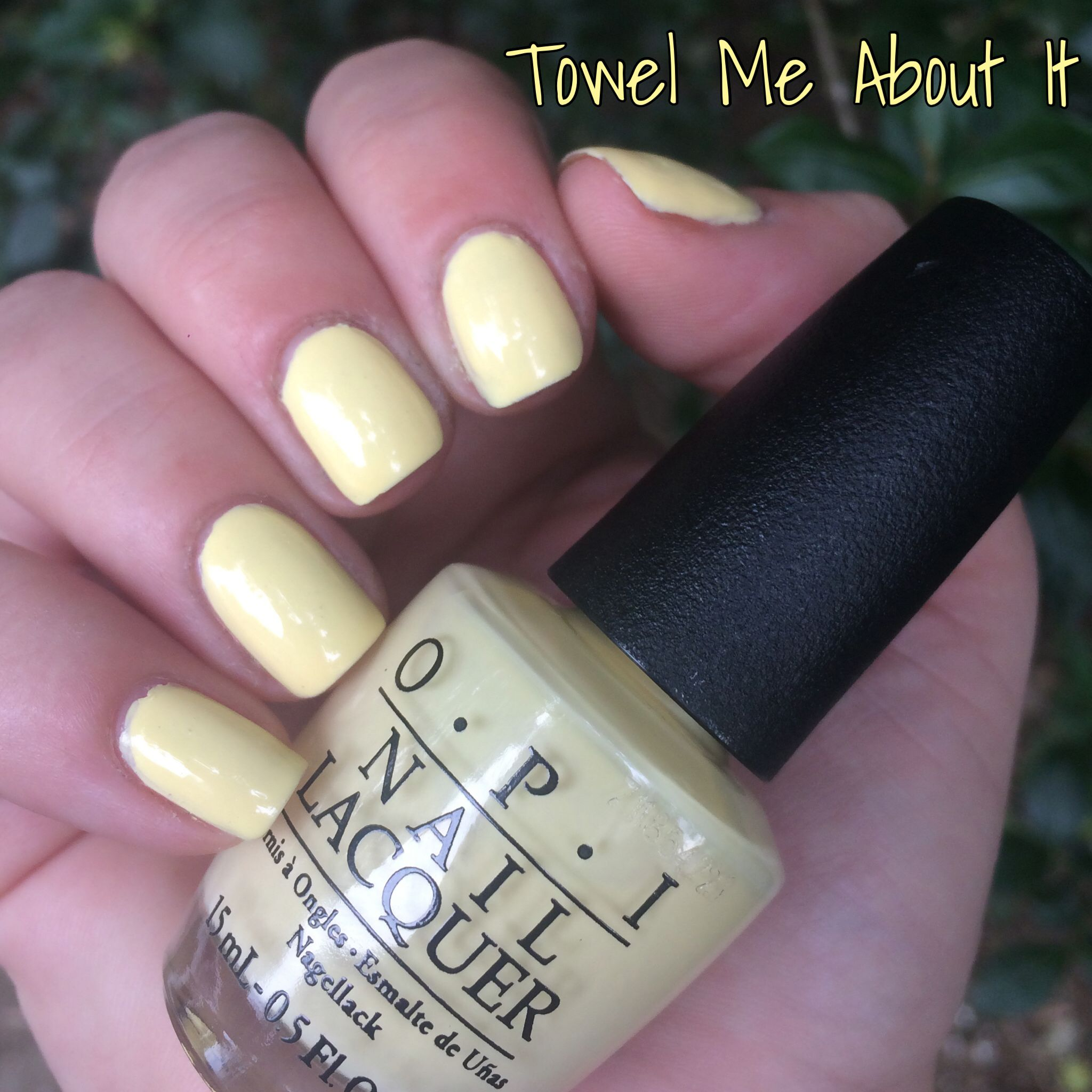 Opi Towel Me About It Opitowelmeabou Nails Nailswatch