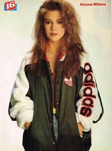 Ohmy80 S Alyssa Milano 80s And 90s Fashion 80s Fashion