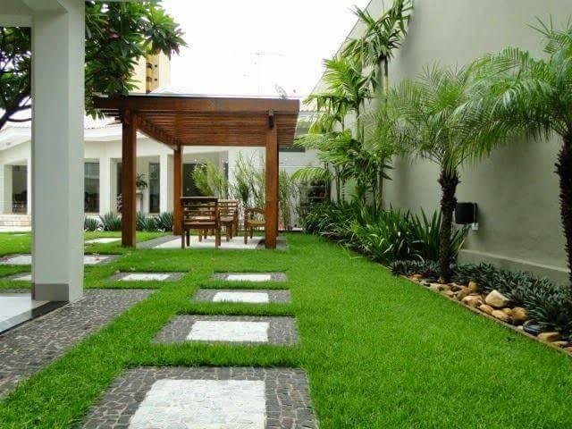Jardines Casas Modernas Full Size Of Decoracion Interiores Con - Jardines-casas-modernas