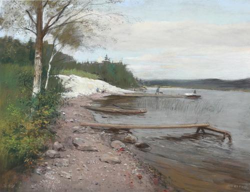 Kalkafgraving - Herman Heijenbrock (1890)