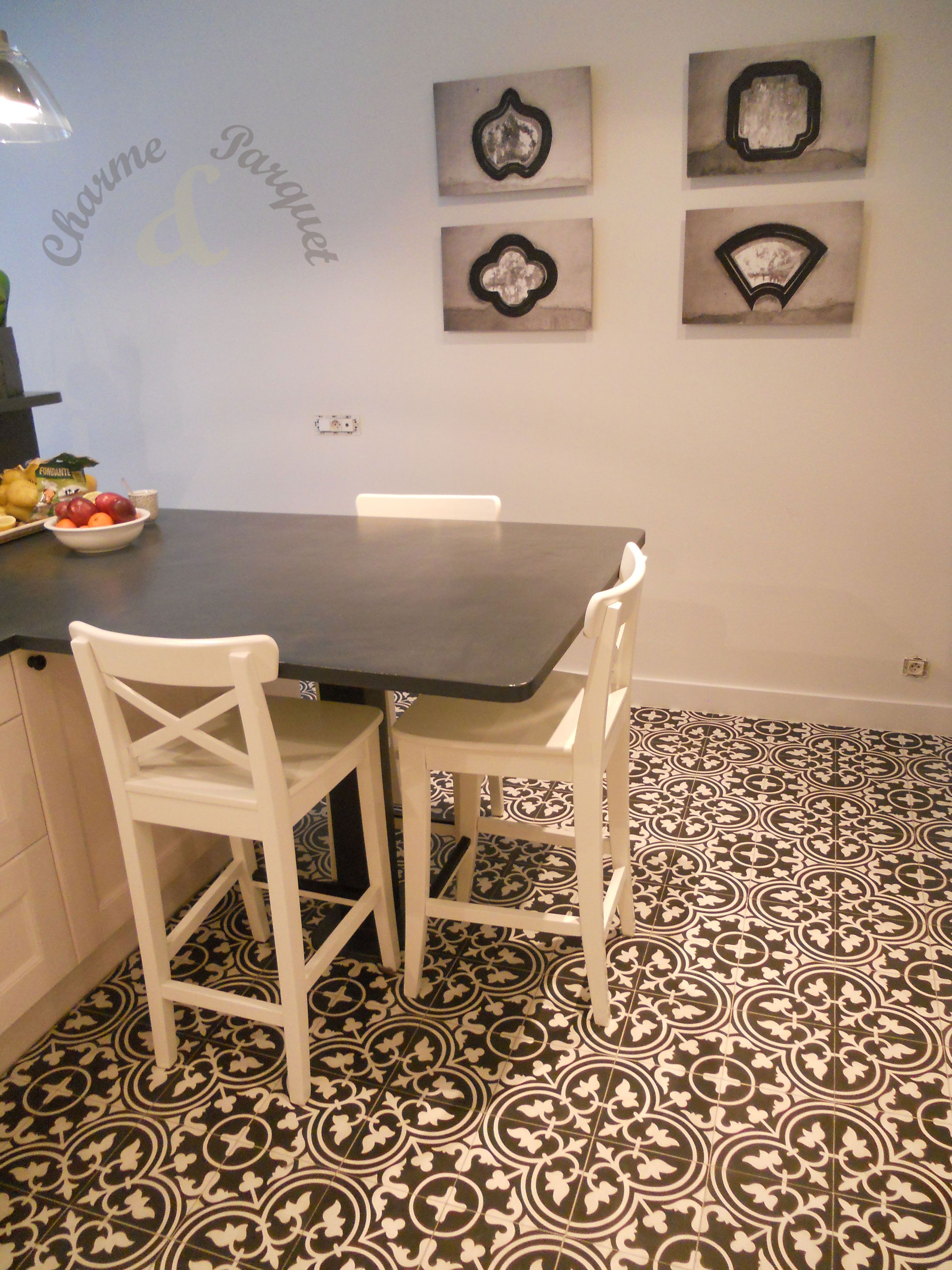 Carreaux De Ciment Dans Un Salon Modele Ef 07 1 Carreau De