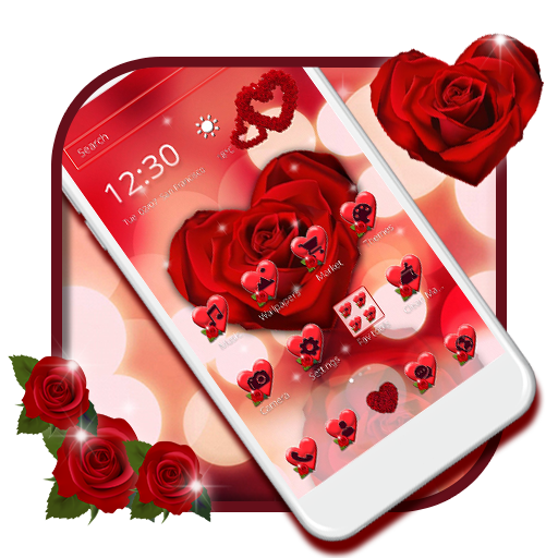 Dark Red Rose Is An Amazing Theme To Download Why Wait Download Nw Cmlauncher Android Googleplay 2d 3d Theme App Livewallpaper Theme App Rose