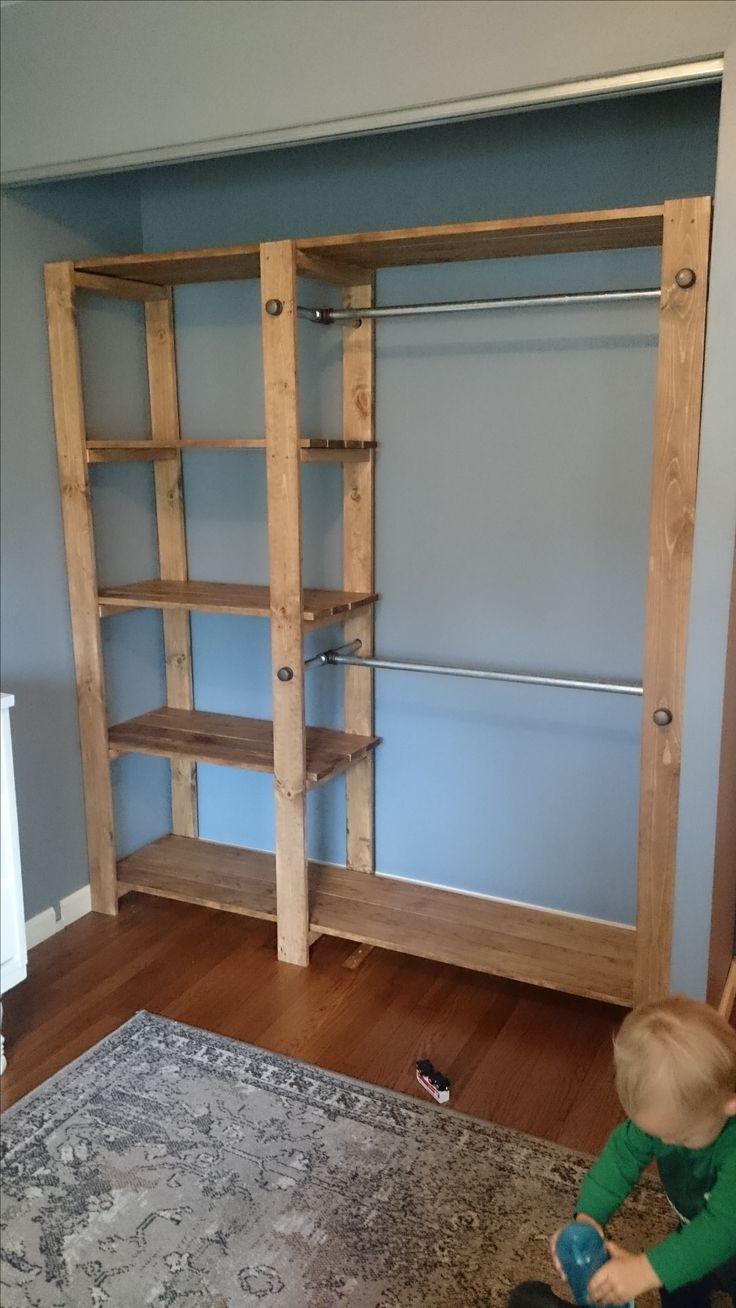 Ana White | Baby Ray's New Closet! - DIY-Projekte  #Diyfurniturebedroom #anawhite