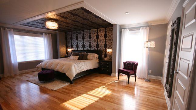 une chambre chic et relaxante - Chambre Rustique Chic