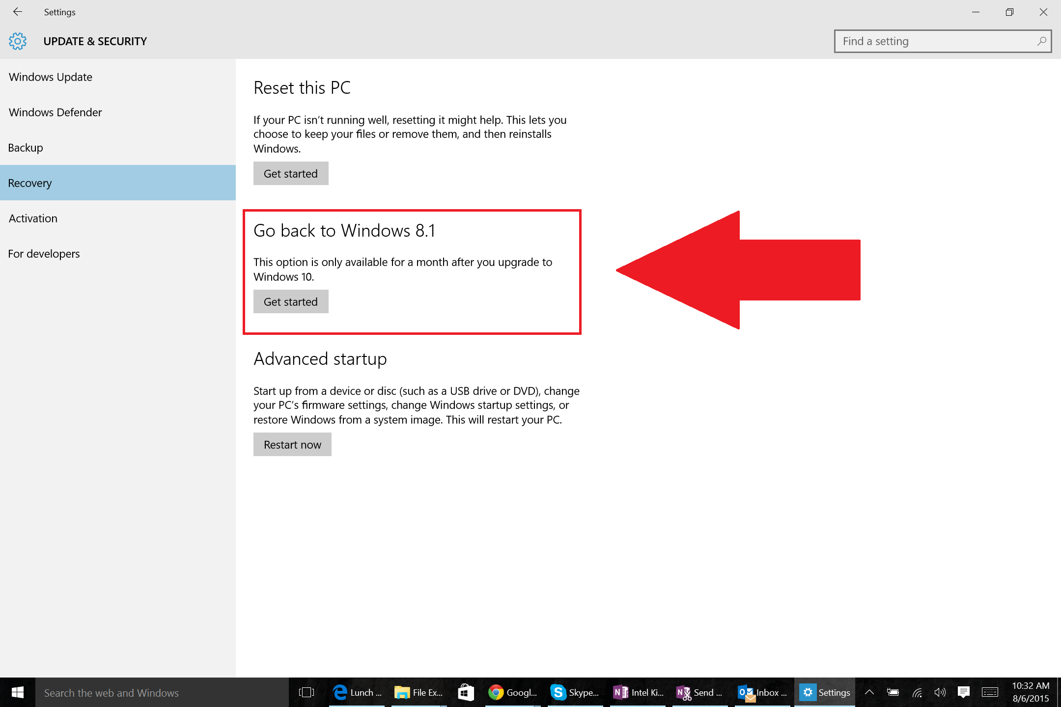 How to go back to Windows 7 or 8 after an unwanted Windows