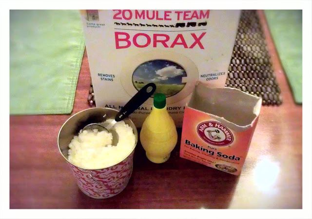 From My Mountain View: Homemade Automatic Dishwasher Soap