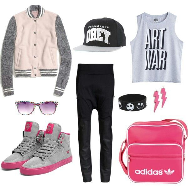 Tomboy outfit. Love this! <3