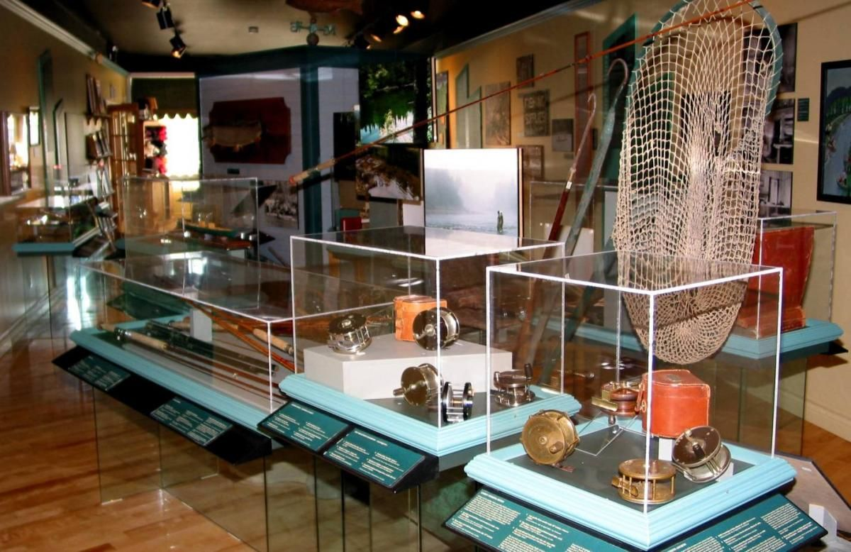 Musée  de la rivière Cascapédia, Gaspésie, Qc