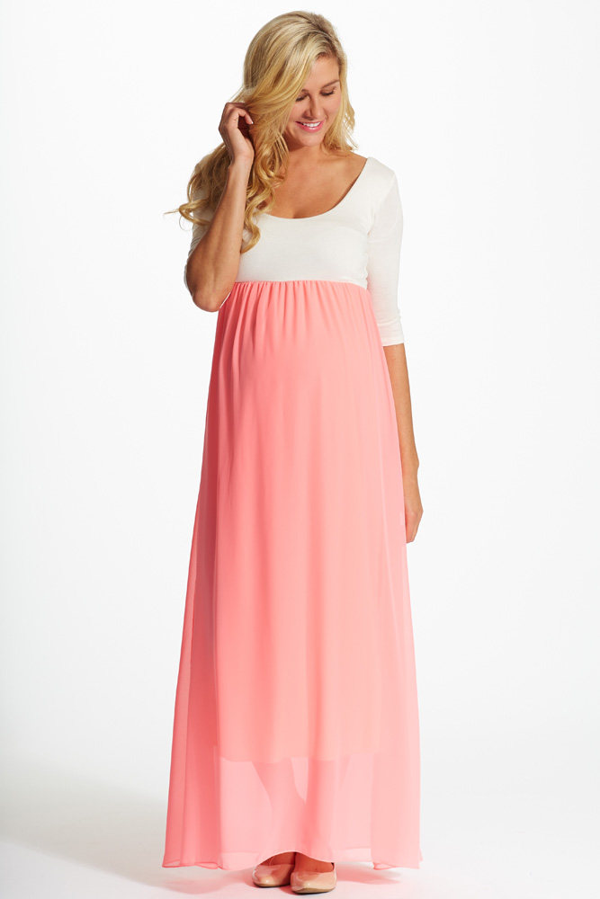 c7124120177 With a vibrant hue and gorgeous chiffon accent
