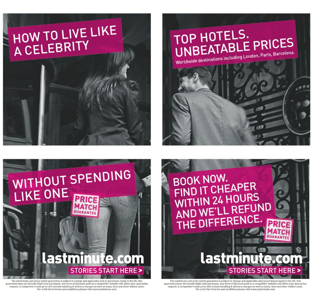 Print Sam Simmonds Travel ads, Top