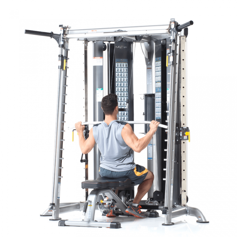 Evolution (CXT225) with Smith Press Lat Pull Down in