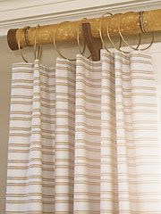Bamboo Curtain Rods Kid Friendly Living Room Little Green