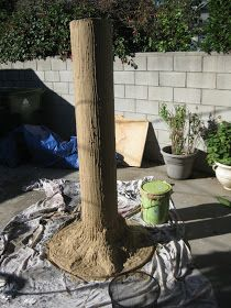 DAVE LOWE DESIGN the Blog: Making a Tree Prop: Part Five