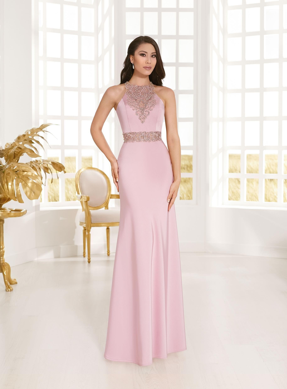 611b7141c5e Vestidos rosas largos Vertize Gala 2018 | Vestidos de fiesta 2018 ...