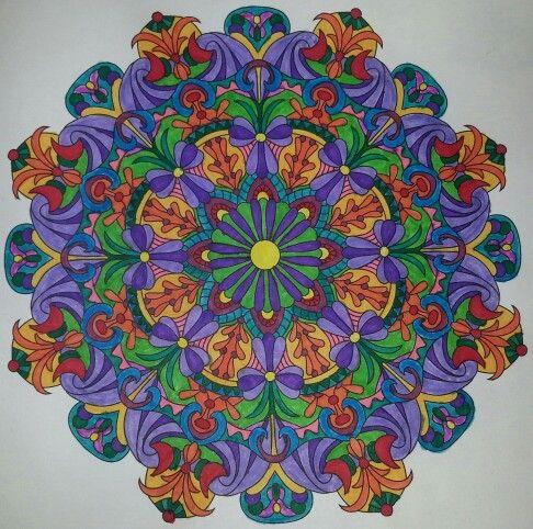 #coloringbook #balance #stressmenders #volume1 #relaxing #crazart #markers #art