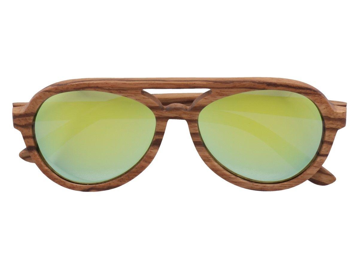 Drewniane Okulary Przeciwsloneczne Aviatto Okulary