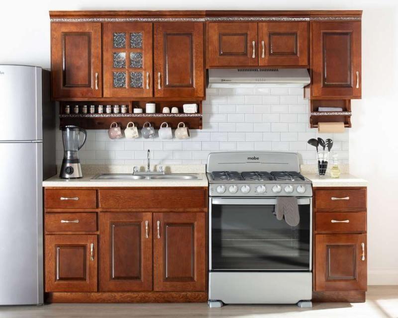 Cocina Texas 240 Cm Con 9 Puertas 3117233 Coppel En 2020 Cocinas Integrales Muebles Aereos De Cocina Muebles De Cocina Rusticos