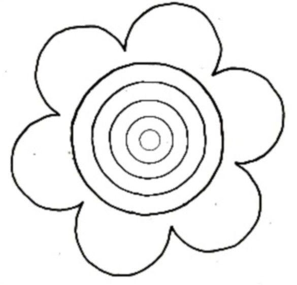 Coloriage printemps coloriage divers pinterest coloriage printemps coloriage et printemps - Coloriage fleurs maternelle ...