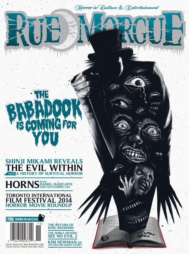 Rue Morgue Magazine Featuring The Babadook
