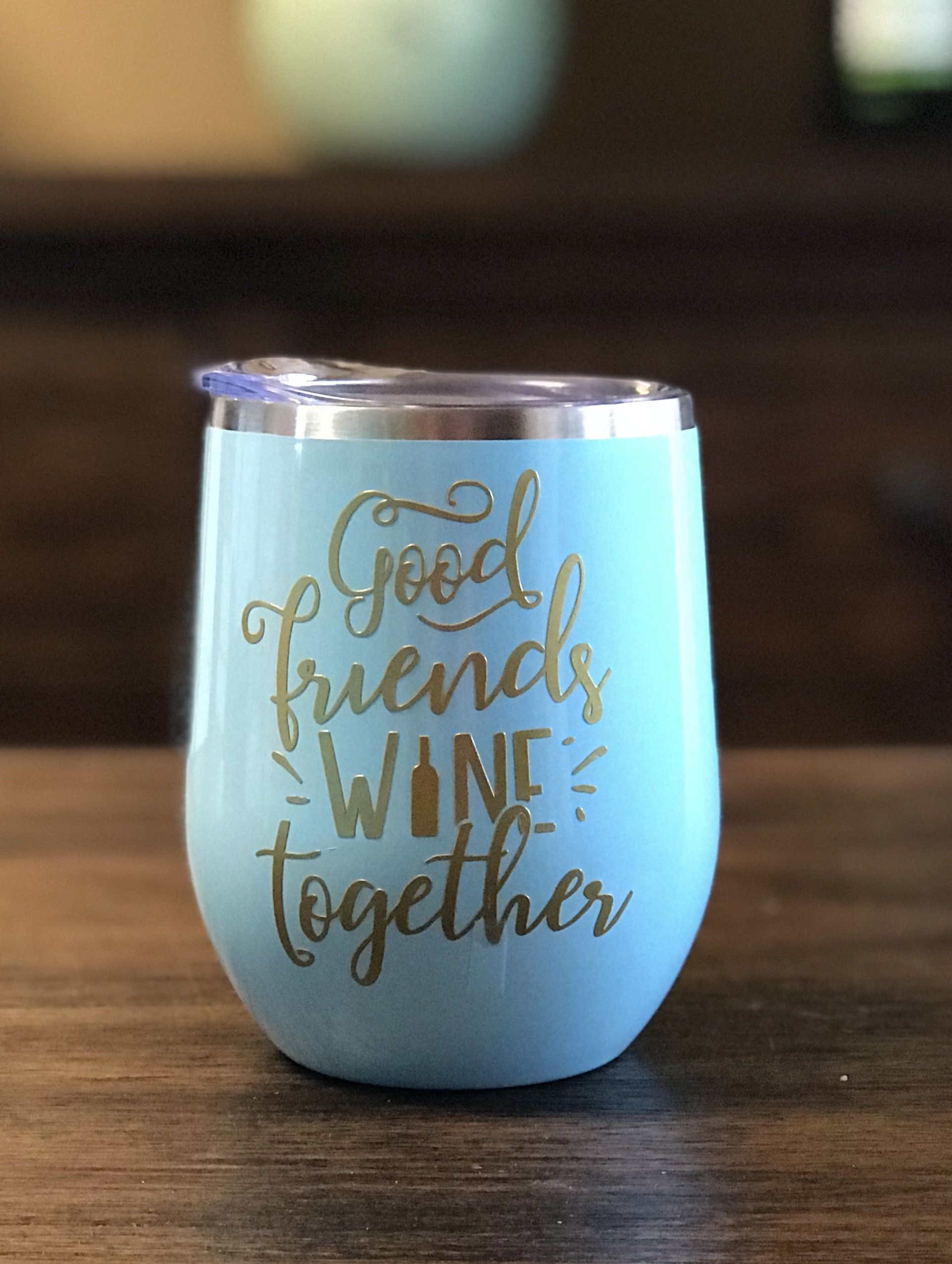 Wine Glass For Friend Wine Lover Gift Funny Wine Gift