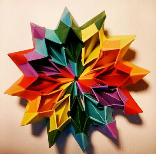 Check Out This New Listing From Crochels On Etsy Origami Fireworks