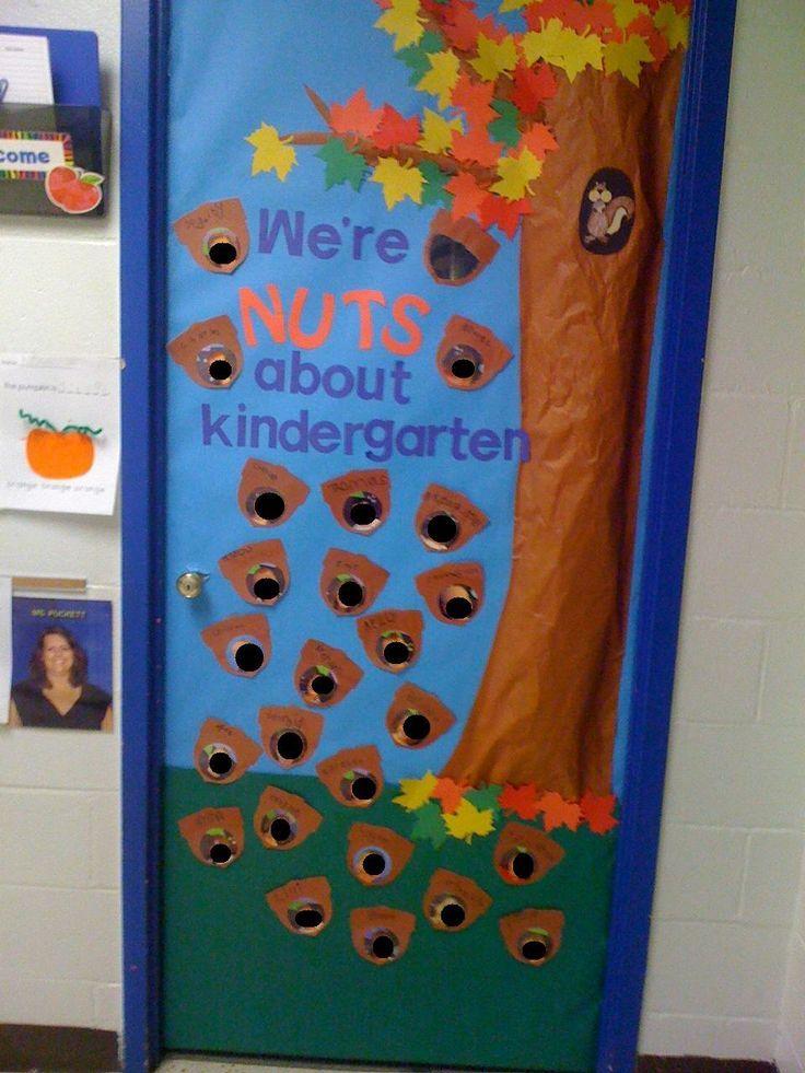 September Door! We're Nuts about Kindergarten! | Classroom ...