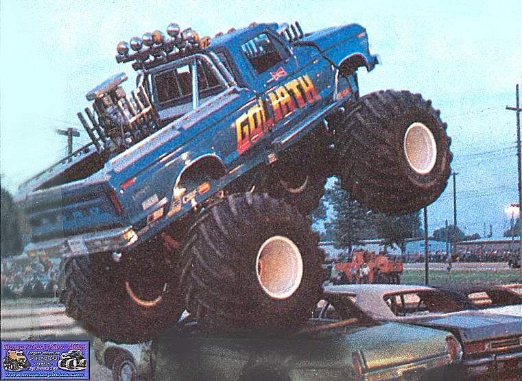 Triple Motor Monster Truck Goliath Classic Monster Truck Big Monster Trucks Monster Trucks Monster Truck Madness
