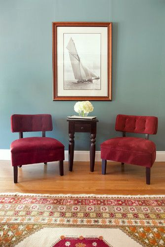 Teal Walls Design Ideas Pictures Remodel And Decor Living Room Colors Eclectic Living Room Burgundy Living Room