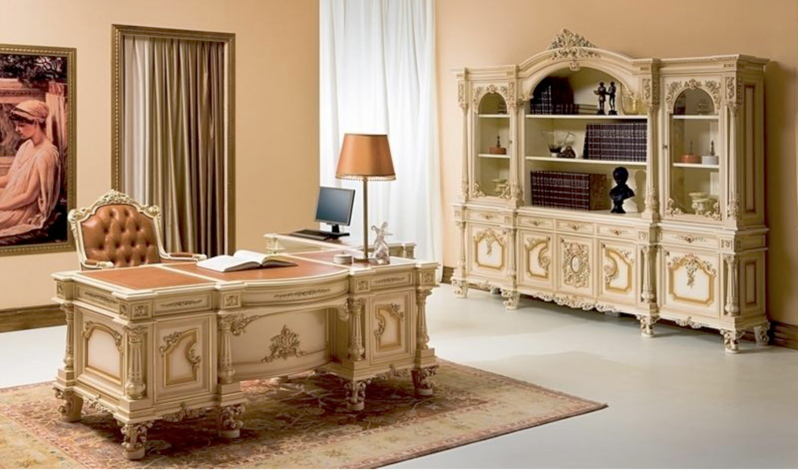 The Giove Executive Desk Home Office