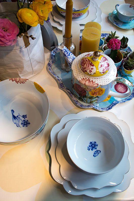Op de Paastafel kan mooi servies natuurlijk niet ontbreken, zoals dit Royal servies van Pip!