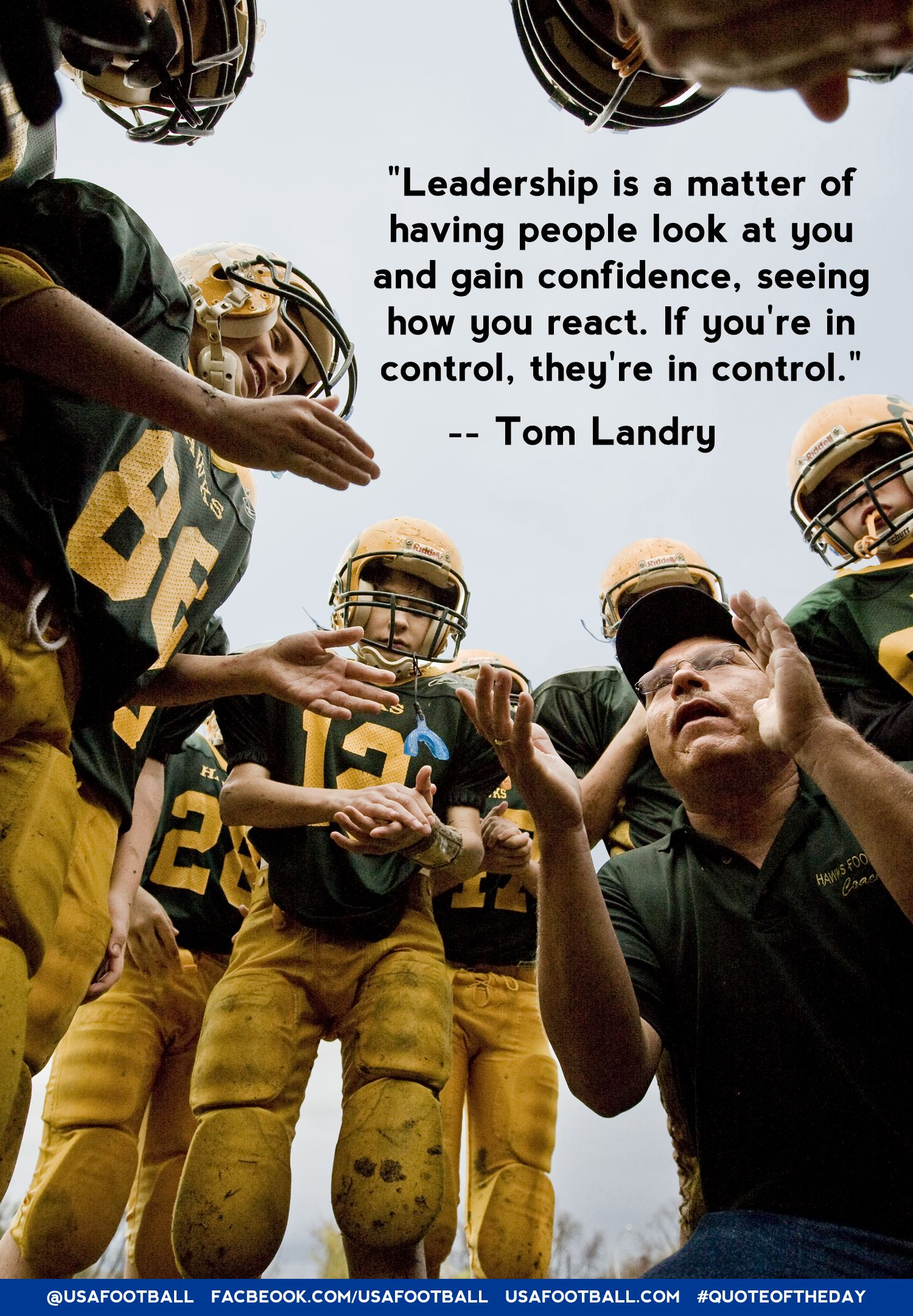 Coaches, the right attitude starts with you.