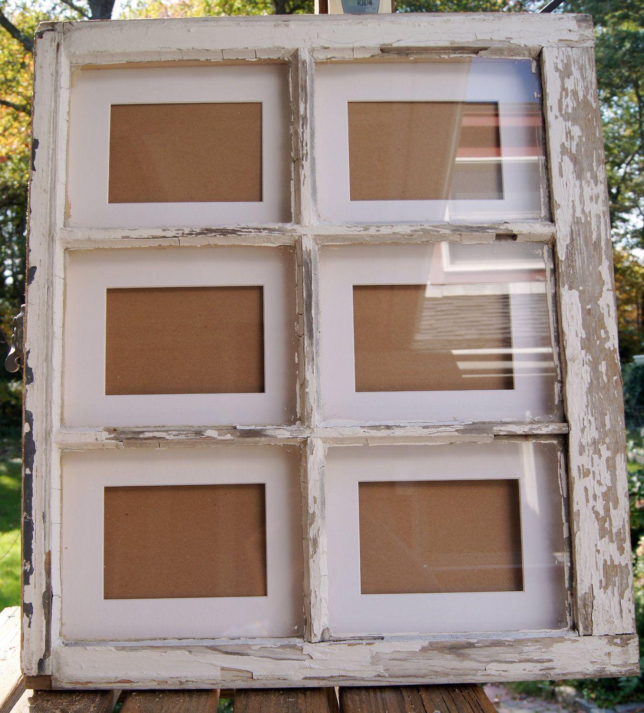 Reclaimed Window frame | Ventana, Marcos y Marcos cuadros
