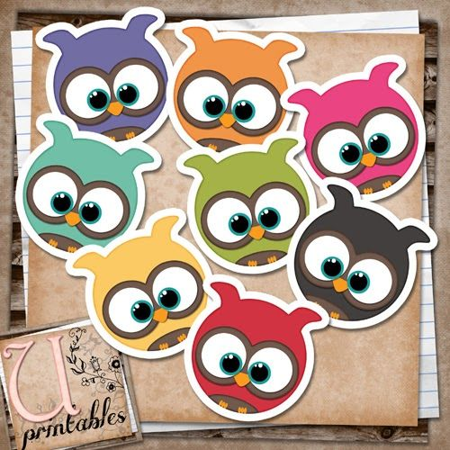 Printable 'Baby Owls'
