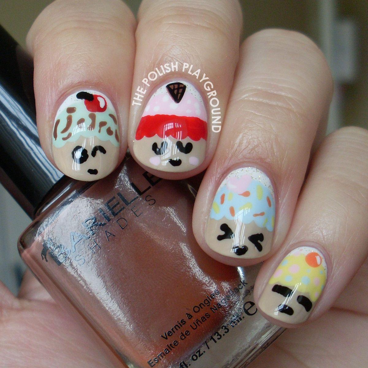 Kawaii Cupcake Nail Art   Nails ~ Nailing it one nail at a time ...