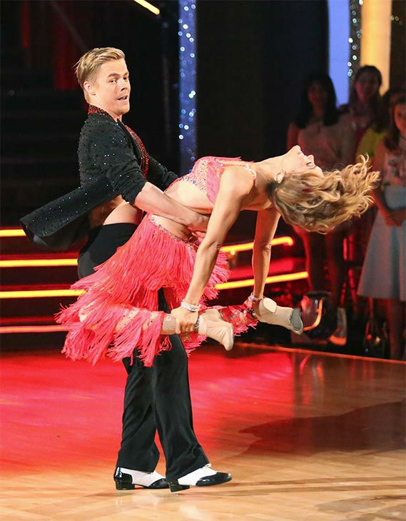 dancing with the stars amy and derek dating Dancing with the stars season 18 finale: thy name is amy | dancing an argentine tango-cha cha fusion, amy and derek brought the ballroom to its feet.