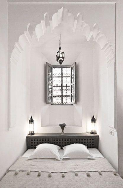 Una perfetta camera da letto per sognare il #Marocco in attesa di ...