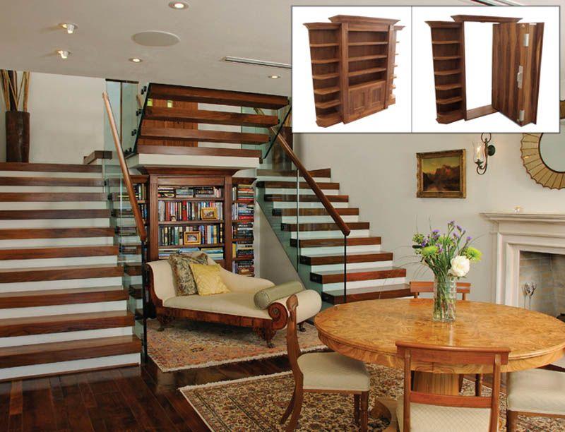 35 Secret Passageways Built Into Houses   House, Secret rooms and ...